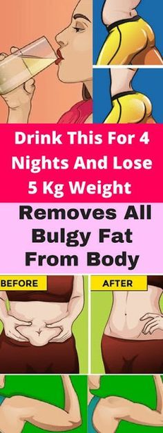 Drink This For 4 Nights And Lose 5 Kg Weight – Removes All Bulgy Fat From Body