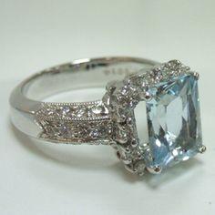 Love love love Aquamarine.........my dream ring!!!