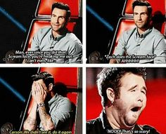 Haha i love the voice for moments like these