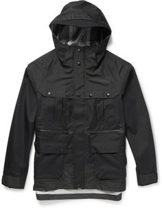 White Mountaineering Waterproof Gortex Hooded Jacket on shopstyle.com