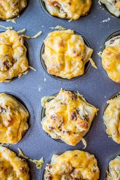 Cheesy Bacon Ranch Puffs - The Food Charlatan