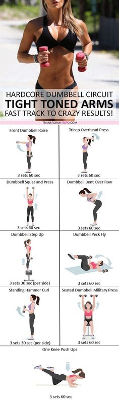 💪🏼 Tone and pull your arms tight! Dumbbell Progressive Circuit for … 💪🏼 Tonen Sie und ziehen Sie Ihre Arme fest! Dumbbell Progressive Circuit f… 💪🏼 Tone and pull your arms tight! Dumbbell Progressive Circuit for Crazy Results – Fitness Workouts, Fitness Motivation, Fitness Diet, Yoga Fitness, Health Fitness, Female Fitness, Fitness Quotes, Fitness Goals, Fitness Websites