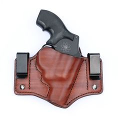 Leather Inside waistband concealed carry holster for Smith & Wesson 342 J Frame 357 Magnum Concealment Holsters, Concealed Carry Holsters, 357 Magnum, Personal Defense, Smith Wesson, Dog Houses, Hand Guns, Trending Outfits, Unique Jewelry