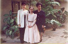 Diana Romero Blancarte, Rocío Romero Blancarte y Carmenj Blancarte.