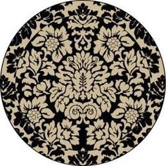 Amalfi Paradise Area Rug (8' Round) | Overstock.com Shopping - Great Deals on Round/Oval/Square