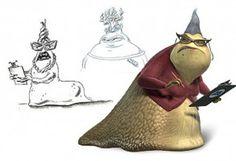 Monsters Inc. - Yeti (a.k.a. the Abominable Snowman) (John ... Боб Питерсон