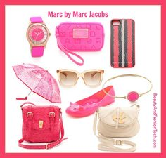 Marc Jacobs accessories for summer