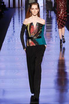 Etro Fall 2013 Ready-to-Wear Fashion Show - Josephine Le Tutour