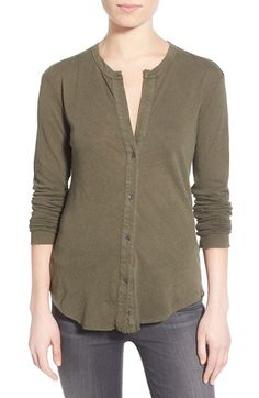 Love this comfy shirt, but not the color.