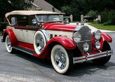 1929 Packard 645 Custom 8 Dual Cowl Phaeton
