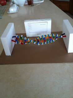 DNA Double Helix by grade Science project Science Project Models, Dna Model Project, Science Models, Biology Projects, Science Fair Projects, School Projects, School Hacks, School Ideas, Septum Piercings