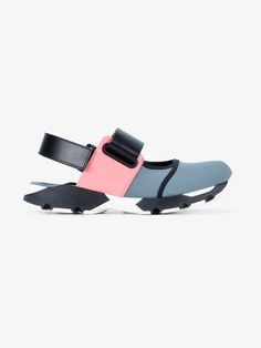 Marni colour block sneaker sandals