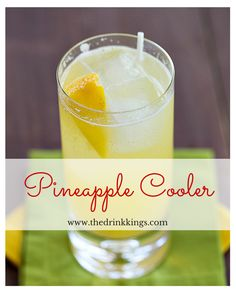 Pineapple Cooler | thedrinkkings.com