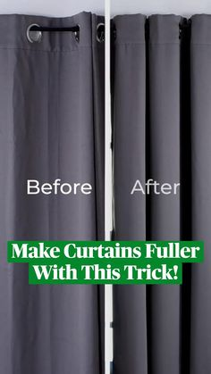 Diy Crafts For Home Decor, Diy Crafts Hacks, Home Craft Ideas, How To Make Curtains, Diy Curtains, Simple Life Hacks, Useful Life Hacks, House Cleaning Tips, Cleaning Hacks
