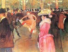 Henri Touluse Lautrec painting