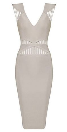 very sexy and have a unique design, body-con fit, length above knee, back zipper Material- 90% rayon /9% nylon/ 1% spandex Color - Beige Size -X-Small, Small, Medium, Large ( email us if size and color is not available) * Dry clean * Imported ****Please See Store Policies ***** ****Please see FAQ on Pre-Orders***** Feel free to contact us with any question you may have