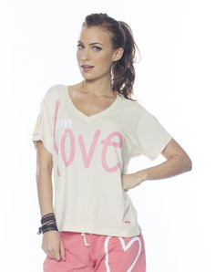 Peace Love World, V Neck Tee, Tees, My Style, Summer, Clothes, Collections, Women, Fashion
