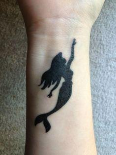 Little mermaid tattoo!!