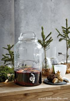 Must-have! Glass drinks dispenser — Bodie and Fou - Award-winning inspiring concept store