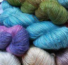 Artyarns Silk Rhapsody Glitter Yarn  Favorite summer yarn 2