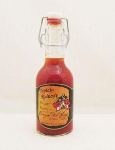Captain Rodney's Private Reserve Corazon Del Fuego Hot Sauce