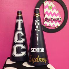 TCC Megaphones, Senior Year, Cheerleading, Megaphone Maven