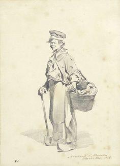 Pieter van Loon | Luciferverkoper, Pieter van Loon, 1840 |