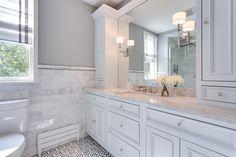 Georgetown Hall Bathroom Remodel Design by Meg Tawes
