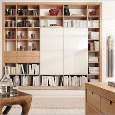 hulsta library - office cabinets idea