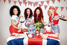 little mix union | ... Little Mix get patriotic to launch the Union Jack M&M's mix 4 of 5