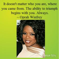 Oprah Winfrey - love her Valk Chuah Mall at Lawson Heights Oprah Quotes, Wisdom Quotes, Oprah Winfrey Books, Dope Quotes, Motivational Quotes, Inspirational Quotes, Quotes By Famous People, Famous Quotes, Celebration Quotes