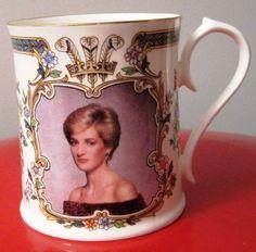Princess Diana 30th. Birthday Portrait Mug by Aynsley-LE 5000