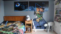 DIY Ideas For Boyu0027s Bedroom. Lego BedroomStar Wars BedroomKids ...