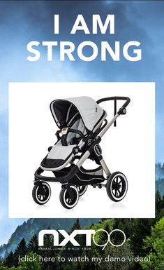 I am really strong Click this video to learn about all my many great functions. • • • #Emmaljunga #NXT90 #stroller #kinderwagen #barnvagn #cochecitos #pregnant #schwanger #gravid #embarazada