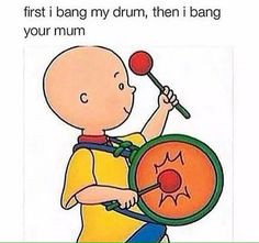 Literally A Bunch Of Fucked Up Memes About Caillou (That Are Great)