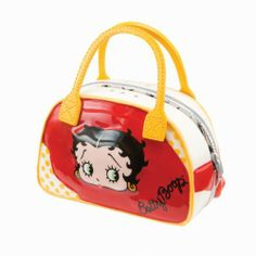 Betty Boop Kitchen Salt and Pepper Shaker Set by Vandor Lyon Company - Sports Bag by Vandor Lyon Company. $19.95. Unique Betty Boop table shakers split in half. Handbag shaped shakers pull apart to make 2 shakers. Betty Boop fashionable handbag. Measures about 3.25 inches wide. Made of ceramic. The Betty Boop Sports Bag makes 2 shakers, it jut splits in half. The front image is the same on both sides. Measures about 3.25 inches wide.