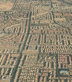 THOUGHTS ON ARCHITECTURE AND URBANISM: Urban sprawl in California