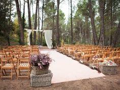 Celebra tu ceremonia de boda en el bosque