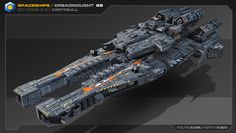 ArtStation - Heavy Spaceships 02, Stephane Chasseloup