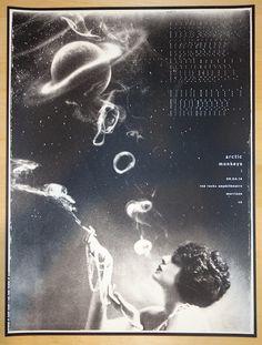 2014 Arctic Monkeys - Red Rocks Concert Poster by Rob Jones