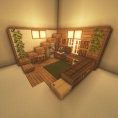 Minecraft House Plans, Minecraft Mansion, Easy Minecraft Houses, Minecraft House Tutorials, Minecraft Room, Minecraft House Designs, Minecraft Decorations, Amazing Minecraft, Minecraft Tutorial