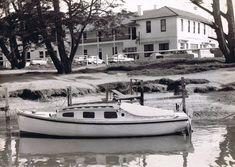Mordialloc Creek outside Bridge Hotel 1960-70