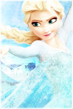 Elsa From Frozen! Disney Frozen Elsa, Disney Pixar, Walt Disney, Disney Princess, Disney Characters, Frozen Princess, Princess Belle, Disney Cartoons, Frozen Pictures