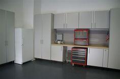 #Garage #Cabinets #Storage  www.closetsbydesign.com 1-800-293-3744