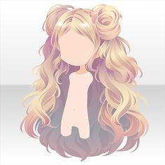 Anime Long Hair, Manga Hair, Anime Girl Hairstyles, Pelo Anime, Chibi Hair, Hair Sketch, Arte Disney, Hair Reference, Fashion Design Drawings
