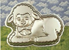 Wilton Gentle Lamb Cake Pan 21052515 1990  FullSize  Retired >>> Learn more by visiting the image link.