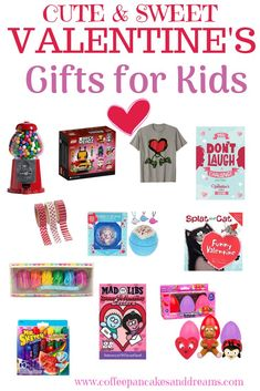 Cute Valentine's Day Gifts for Kids - Coffee, Pancakes & Dreams - Inexpensive Valentine Gift Ideas for Kids - Valentine Gifts For Kids, Valentines Day Activities, Valentines Day Treats, Valentine Day Crafts, Funny Valentine, Family Activities, Trending Christmas Gifts, Christmas Gifts For Her, Tween Gifts