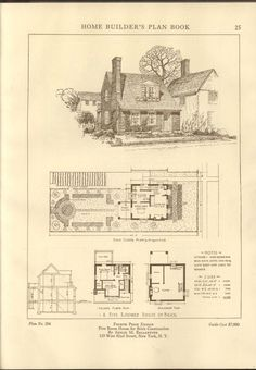 Home builder's plan book