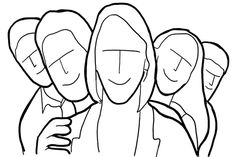 Tengase Presente: Guía con 21 muestra de poses, antes de comenzar a fotografiar grupos de personas