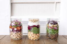 3 Mason Jar Salads